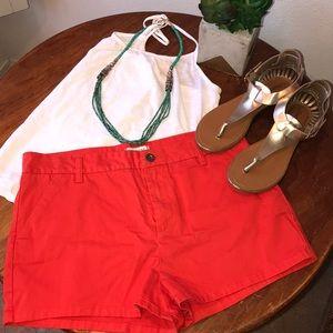 Bright Orange Shorts